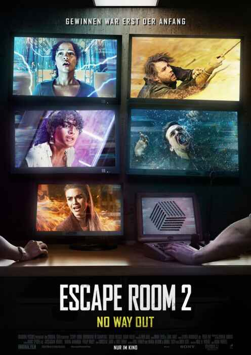 Escape Room 2: No Way Out (Poster)
