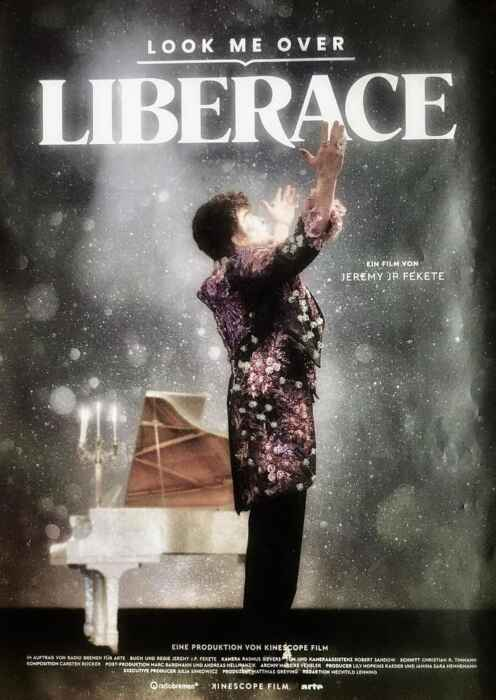 Look Me Over - Liberace (Poster)