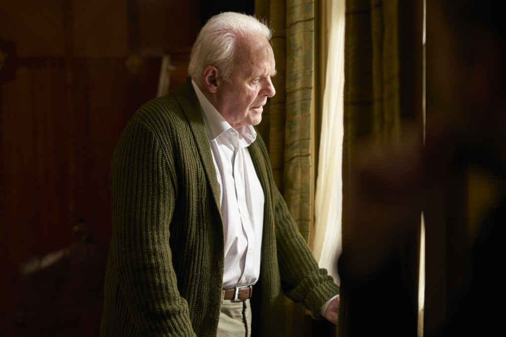 """Anthony Hopkins in """"The Father"""""""