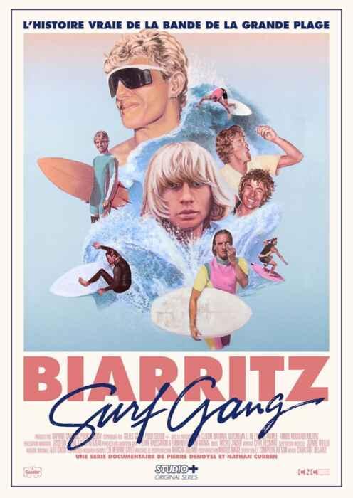 Biarritz Surf Gang (Poster)