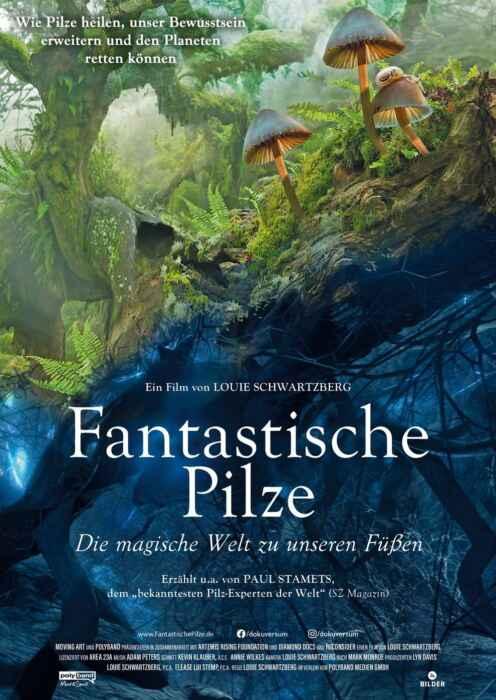 Fantastische Pilze - Die magische Welt zu unseren Füßen (Poster)