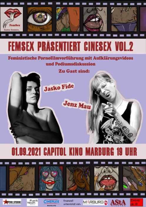 FemSex präsentiert CineSex Vol. 2 (Poster)