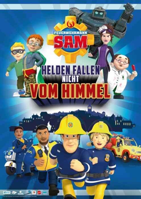 Feuerwehrmann Sam - Helden fallen nicht vom Himmel (Poster)