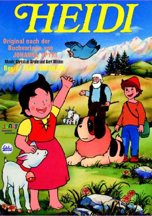 Heidi (Heidi in den Bergen) (Poster)