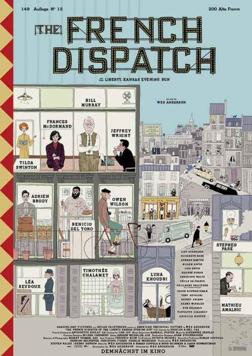 The French Dispatch (Poster)