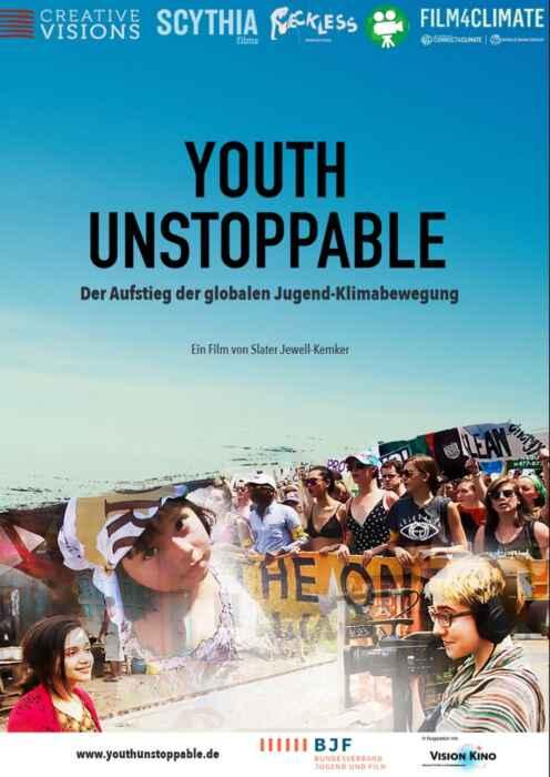 Youth Unstoppable - Der Aufstieg der globalen Jugend-Klimabewegung (Poster)