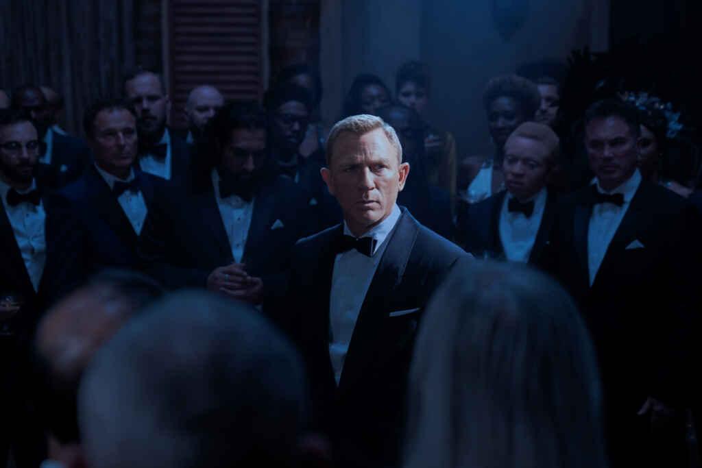 """Daniel Craig als James Bond in """"Keine Zeit zu sterben""""© 2021 DANJAQ, LLC AND MGM. ALL RIGHTS RESERVED."""