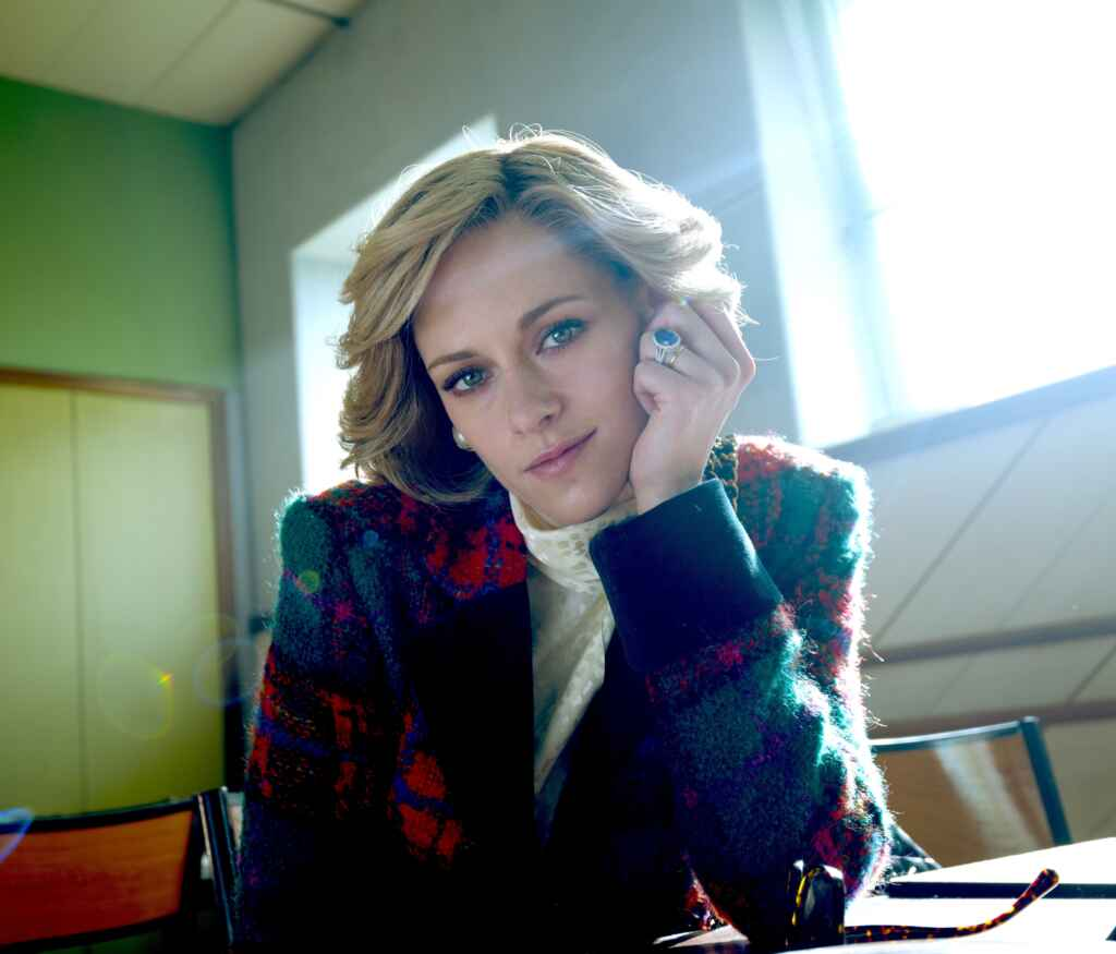 """Kristen Stewart als Prinzessin Diana in """"Spencer ©Komplizen Film / DCM"""