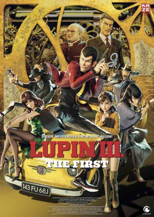 Anime Night 2021: Lupin III: The First (Poster)