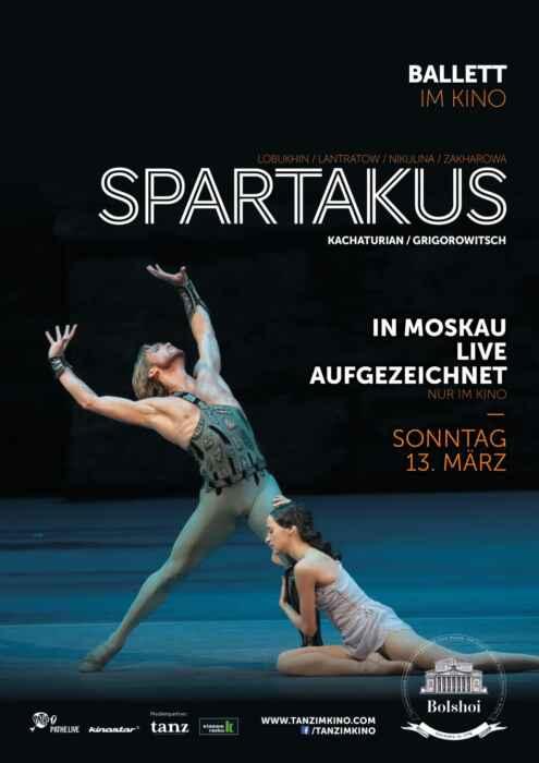 Bolshoi Ballett 2015/2016 - Spartacus (Poster)