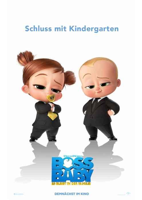 Boss Baby - Schluss mit Kindergarten (Poster)