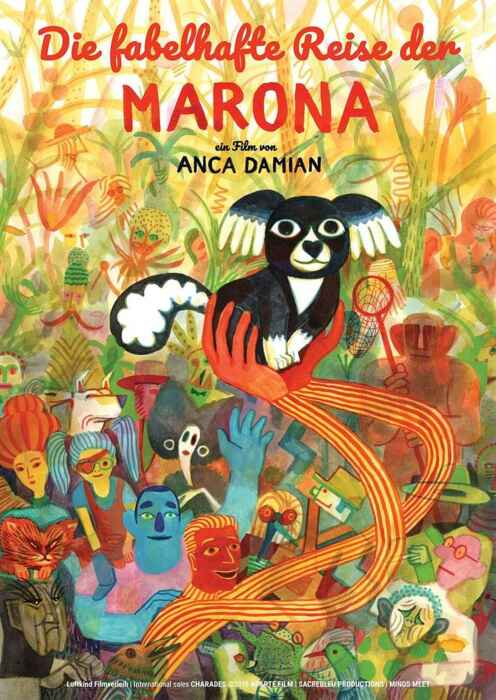 Die fabelhafte Reise der Marona (Poster)
