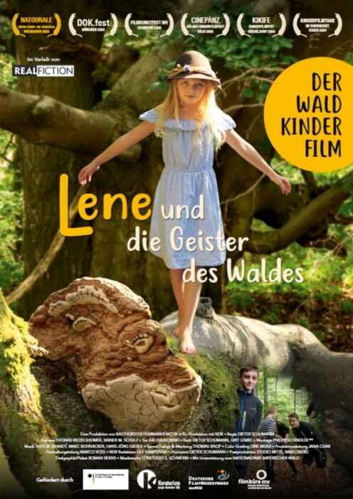 Lene und die Geister des Waldes (Poster)