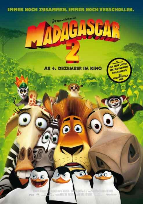 Madagascar 2 (Poster)