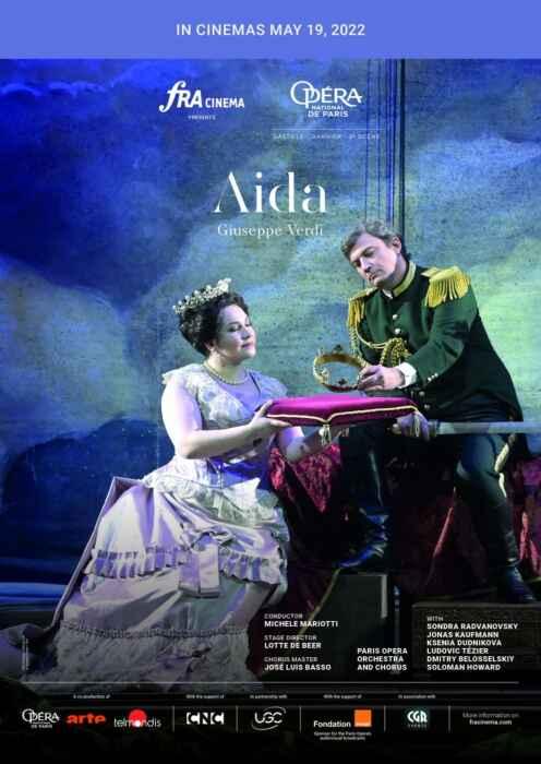 Opéra national de Paris 2021/22: Aida (Aufz) (Poster)