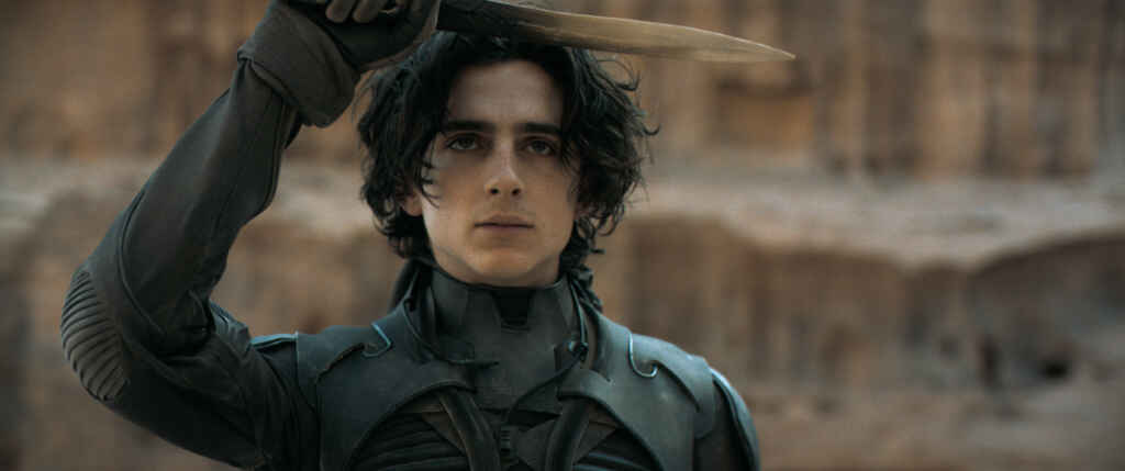 "Timothée Chalamet als Paul Atreides in ""Dune""Courtesy of Warner Bros. Pictures and Legendary Pictures"