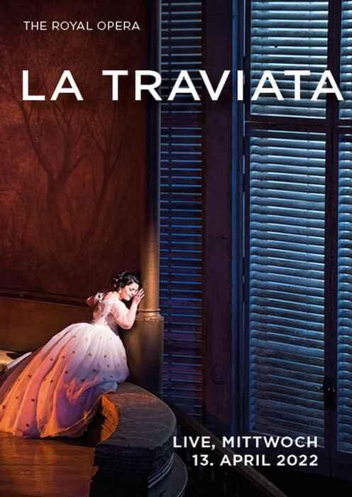 Royal Opera House 2021/22: La Traviata (Poster)
