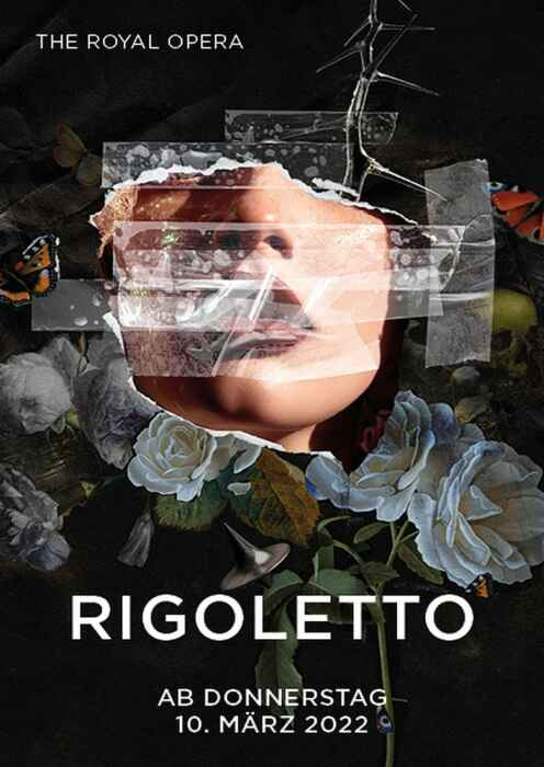 Royal Opera House 2021/22: Rigoletto (Poster)