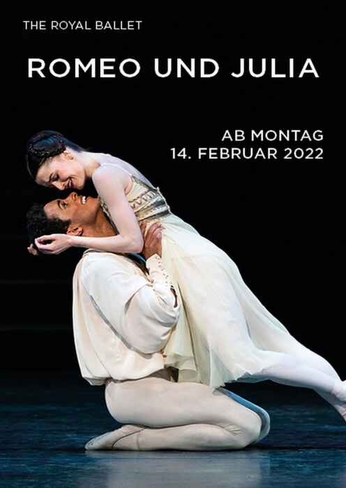 Royal Opera House 2021/22: Romeo und Julia (Poster)