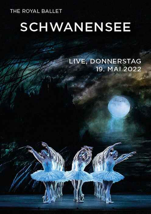 Royal Opera House 2021/22: Schwanensee (Poster)