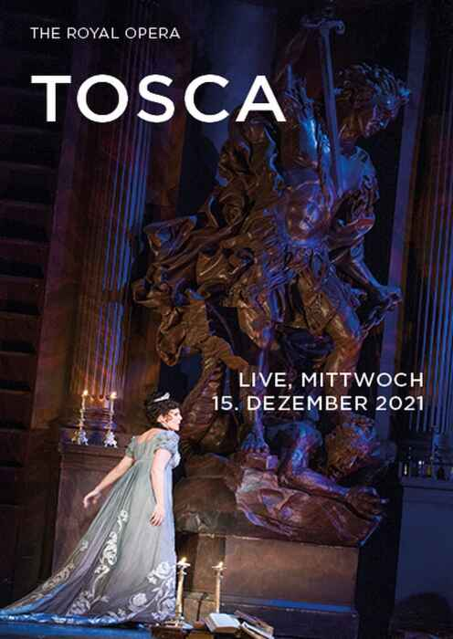 Royal Opera House 2021/22: Tosca (Poster)