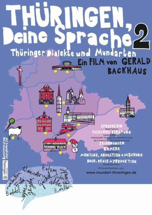 Thüringen, Deine Sprache 2 (Poster)