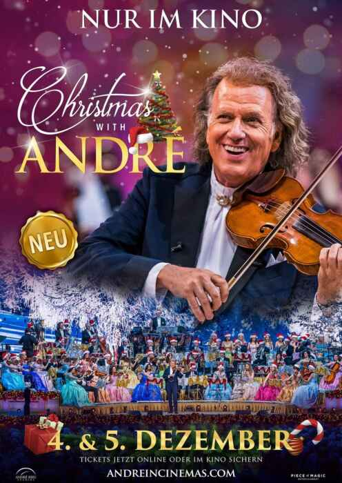 André Rieu: Christmas with André (Poster)