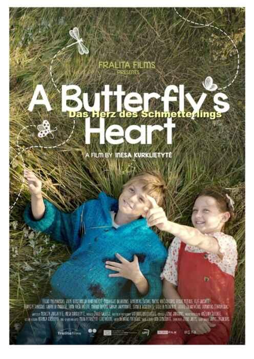 Das Herz eines Schmetterlings (Poster)