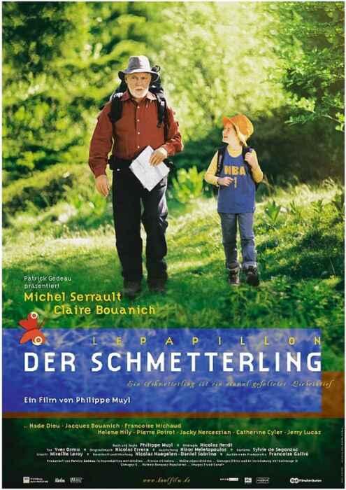 Der Schmetterling - Le papillon (Poster)