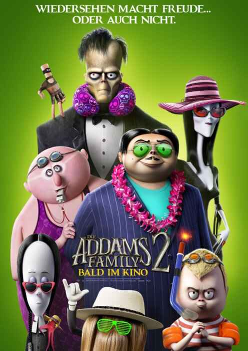 Die Addams Family 2 (Poster)
