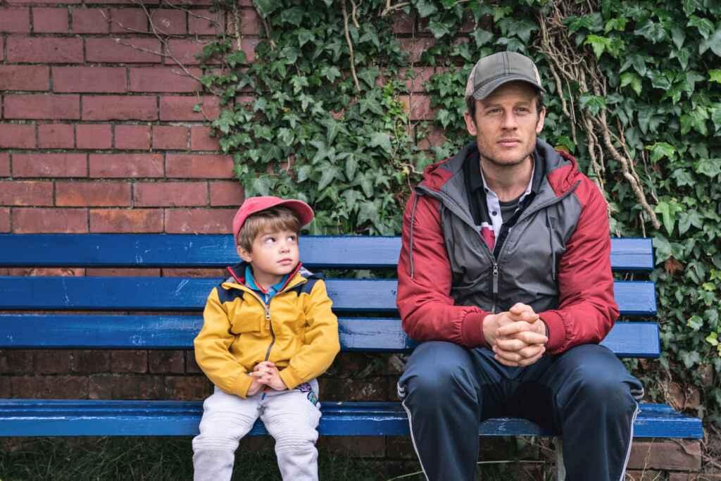 """""""Nowhere Special"""": Leises Drama jetzt im Kino. Copyright Piffl Medien"""