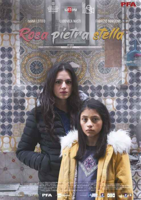 Rose, Stein und Stern (Poster)