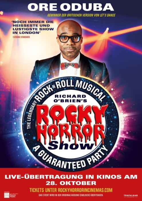 The Rocky Horror Show 2021 Live aus dem Peacock Theatre London (Poster)